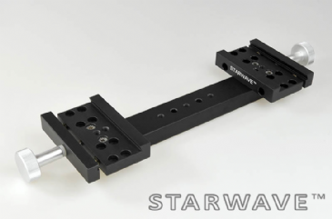 "Starwave Dual Vixen/Synta 1.75"" side by side dovetail bar kit (230mm OTA separation)"